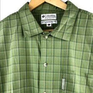 Columbia SS Button Front Shirt